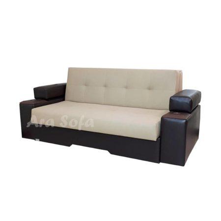 مبل راحتی تخت شو ( تختخواب شو ) دو نفره آرا سوفا مدل V23