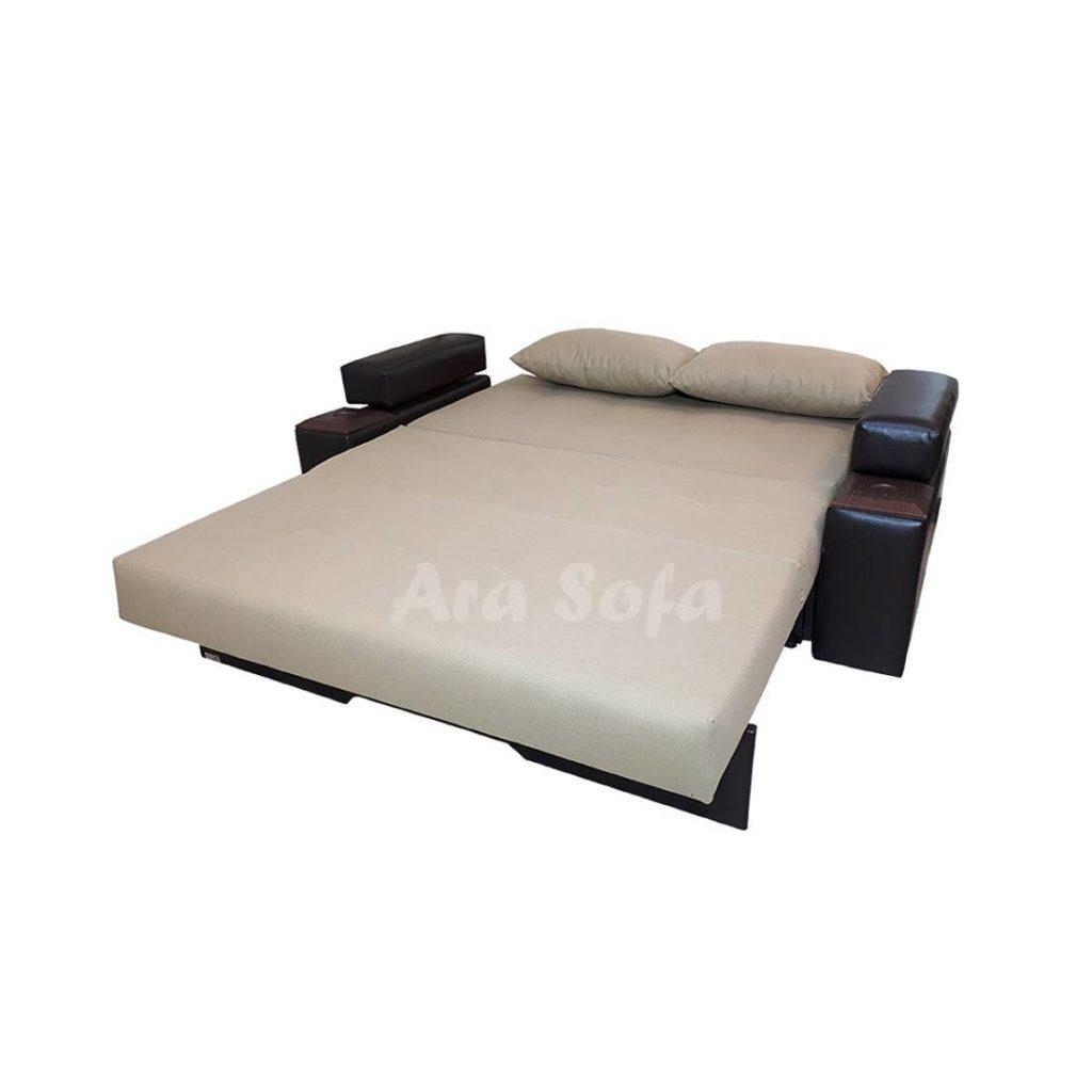 تختخوابشو یک نفره مبل کاناپه تختخواب شو مدرن و شیک NG10
