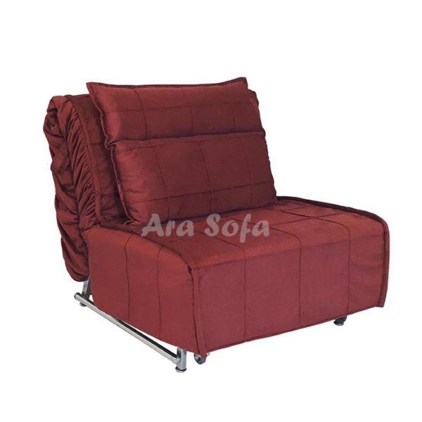 تختخوابشو یک نفره مبل کاناپه تختخواب nc10شو مدرن و شیک