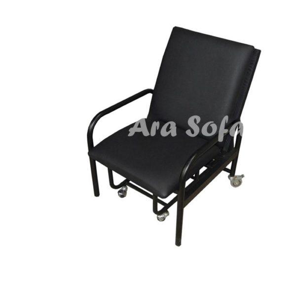 صندلی تختخوابشو تختخواب شو بیمارستانی F12 (2)