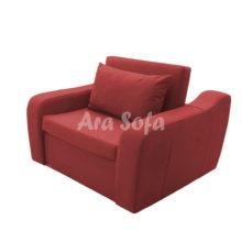 مبل راحتی تخت شو یک نفره مدل آراسوفا کد: UN11