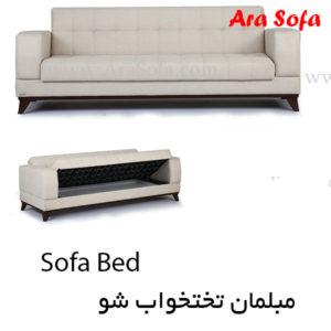 مبلل تختخواب شو یک مفره مبل تختشو دو نفره مبل ال تختخوابشو مبل راحتی تخت شو