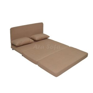 مبل تخت شو در حالت تخت