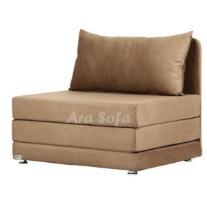 مبل راحتی تخت شو ( تختخواب شو ) یک نفره مدل آراسوفا کد: A10