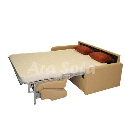 مبل راحتی تخت شو مدل آراسوفا کد: un22با تشک مجزا