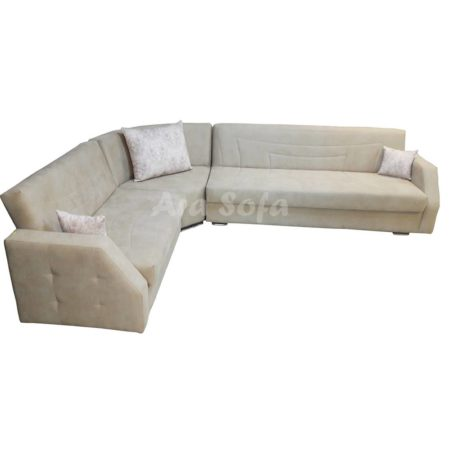 مبل ال تختخوابشو راحتی کاناپه ای مدرن شیک L24