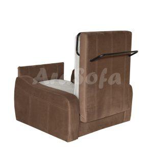 کاناپه مبل تختخواب شو (تخت شو) یک نفره با نشیمن یک نفره مدل un11