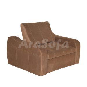 کاناپه مبل تختخواب شو (تخت شو) یک نفره با نشیمن یک نفره مدل un11 آ