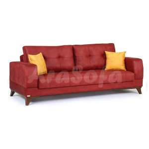 کاناپه مبل تختخواب شو یک نفره با نشیمن سه نفره مدل p19