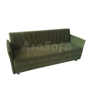 کاناپه تختخواب شو یک نفره با نشیمن 3 نفره