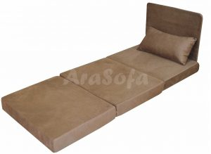 مبل تختخواب شو (تخت شو)یک نفره با نشیمن یک نفره مدل A10