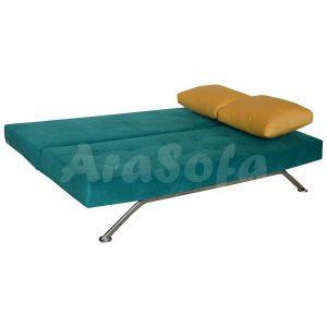 کاناپه مبل تختخواب شو (تخت شو) دو نفره همراه مدل d22