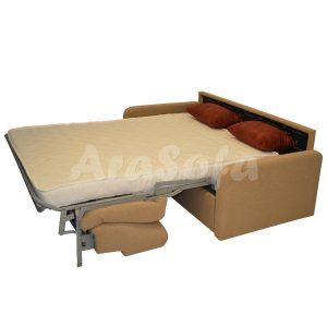 کاناپه مبل تختخواب شو (تخت شو)دو نفره با نشیمن دو نفره مدل un22