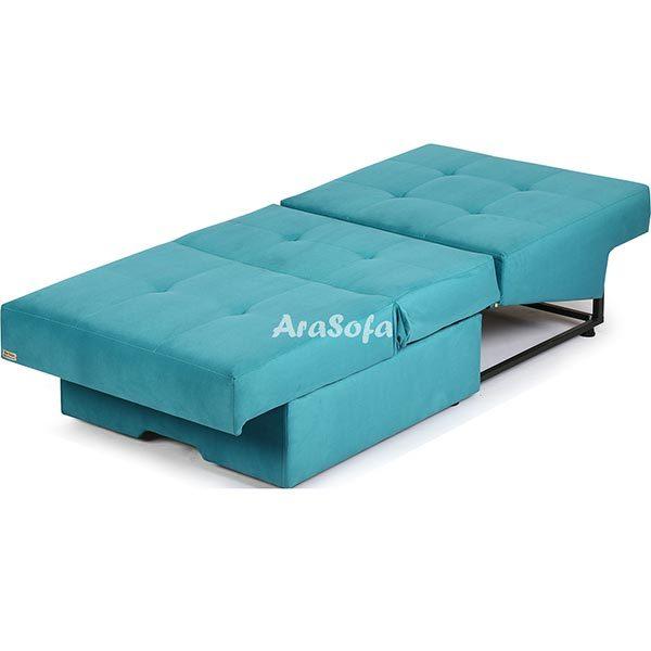 مبل کمجا تختخوابشو تک نفره مدل v10 - مبل آرا