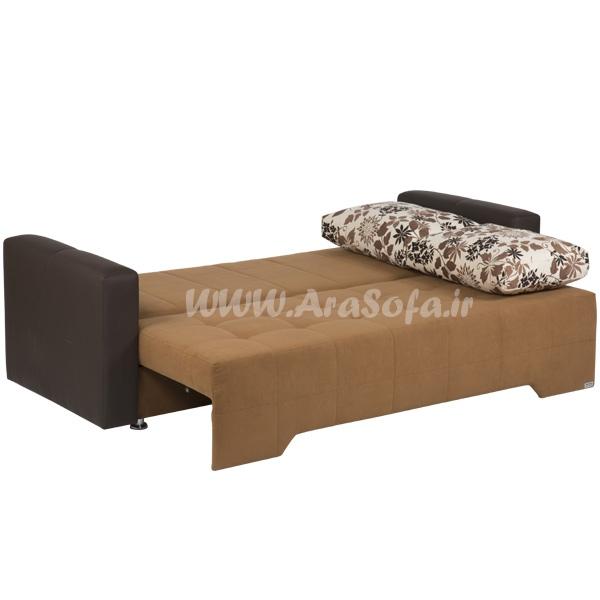مبل تخت خوابشو دو نفره مدل B22 - مبل آرا