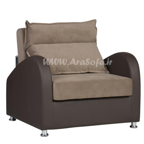 مبل تخت خواب شو تک نفره مدل G16 - مبل آرا