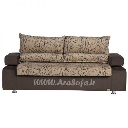 کاناپه تختخوابشو دو نفره مدل G23 - مبل آرا
