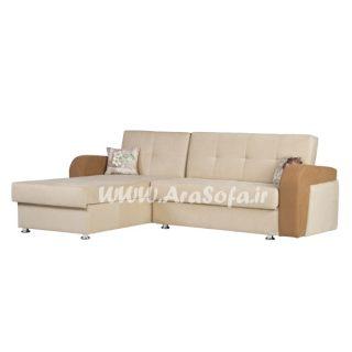 مبل راحتی تختخوابشو طرح ال مدل Ld22 - مبل آرا
