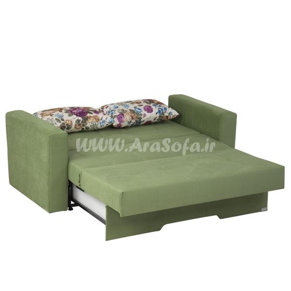 کاناپه تختخوابشو دونفره مدل V22 - مبل آرا