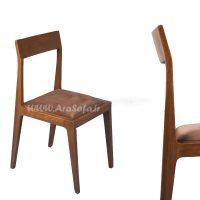 صندلی چوبی فلزی مدل HCH1 - مبل آرا