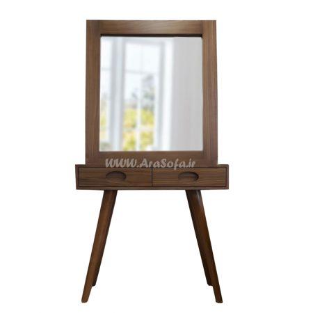 آینه و کنسول چوبی مدل MC27 - مبل آرا