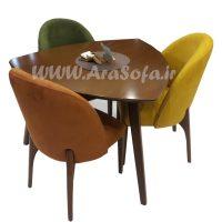میز نهارخوری سه نفره مدل mnabr11-3 - مبل آرا