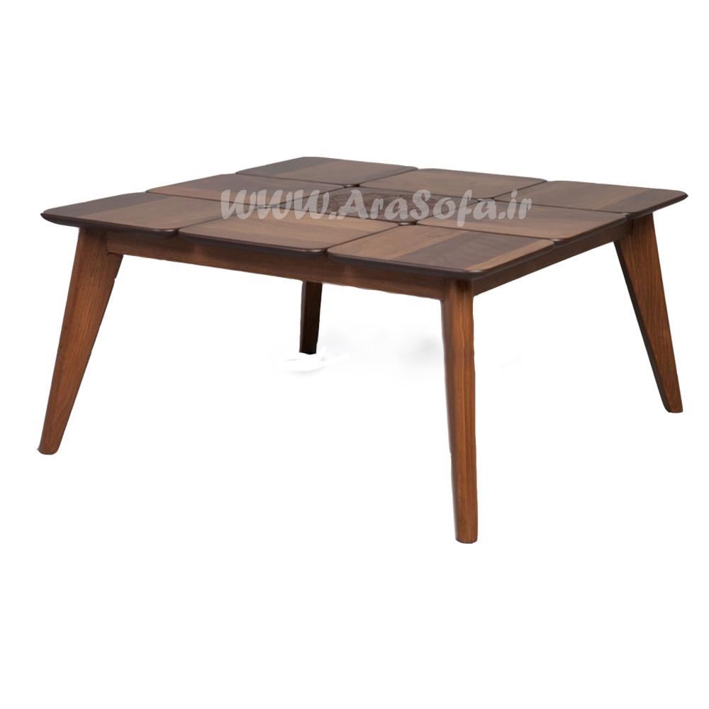 میز جلو مبلی چوبی پازلی مدل MP50 - مبل ارا