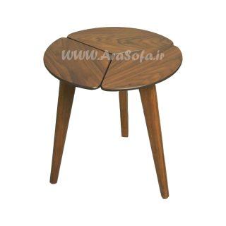 میز عسلی چوبی پازلی مدل mst2