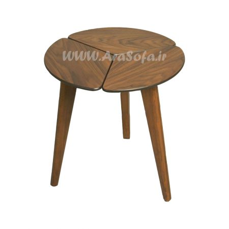 میز عسلی چوبی پازلی مدل MP53A - مبل آرا
