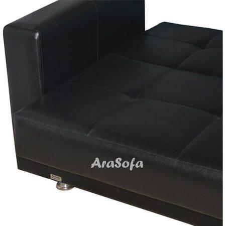 کاناپه تختخوابشو تک نفره مدل B12 مبل آرا
