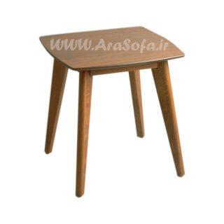 میز عسلی چوبی مدل mst3