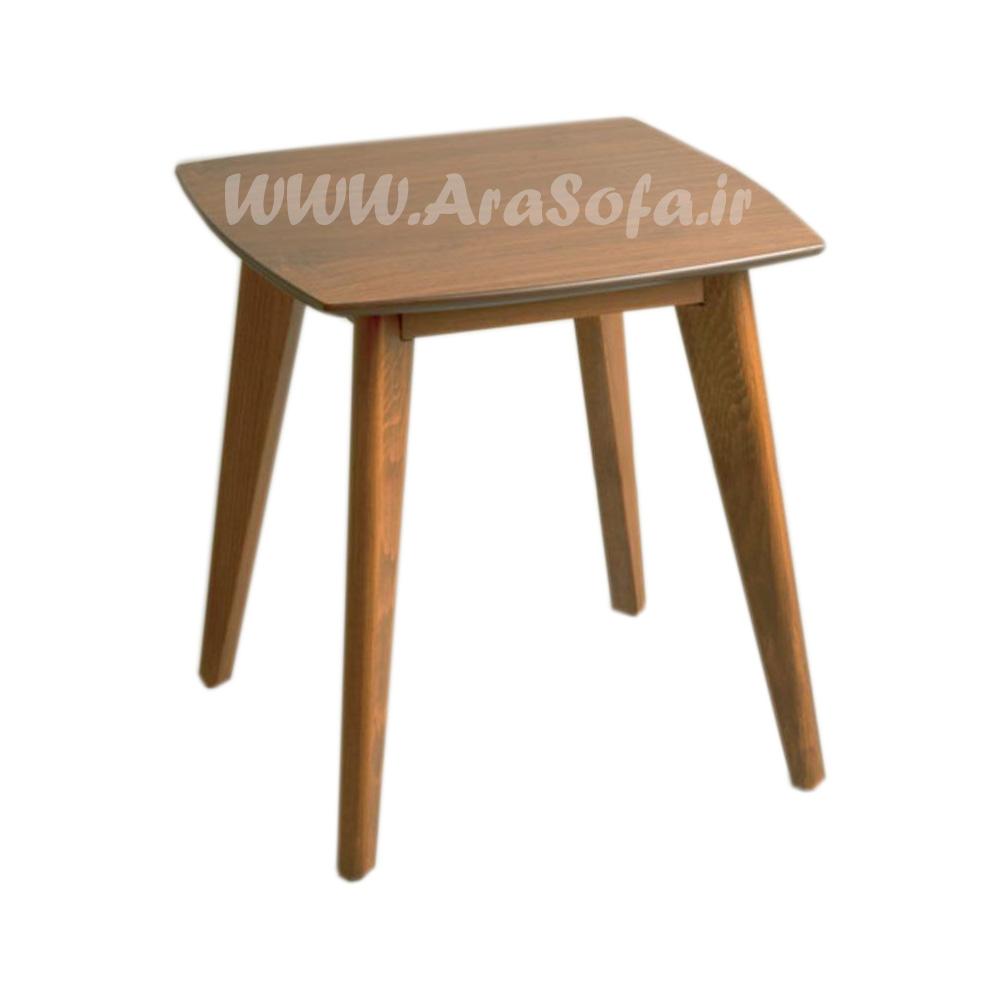 میز عسلی چوبی مدل M55A - مبل آرا