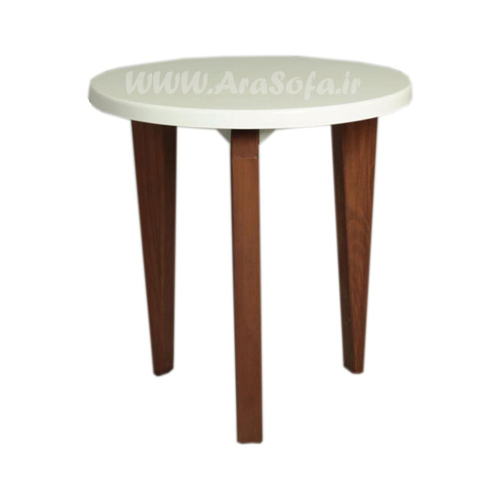 میز عسلی چوبی مدل M57A - مبل آرا