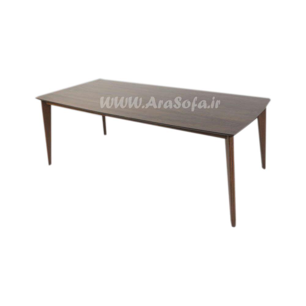میز نهارخوری چوبی 8 نفره مدل MNDT7 - مبل آرا